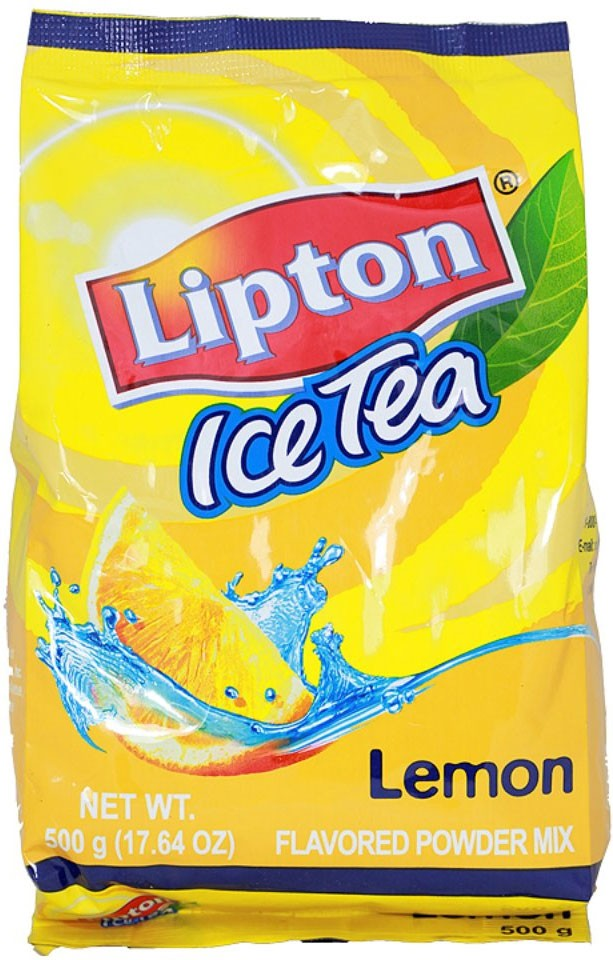 LIPTON LEMON ICE TEA MIX  (00855)