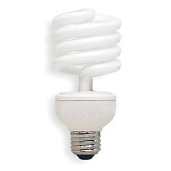 Screw-In CFL, Non-Dimmable, Light Bulb 26 W 2700k,T3 (GRAINGER) bombilla tornillo 043168808903