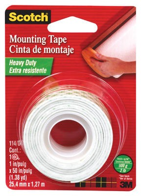 "MOUNTING TAPE I"" IN. CAT.114 (01339) UNIOFFICE"