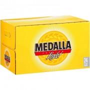 CERVEZA MEDALLA 4/6 PACK 12.OZ  (BOTELLA) BOX  81553011101