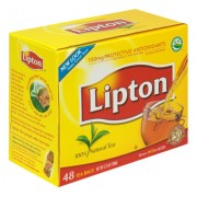 LIPTON 100% HOT  NATURAL TEA PQT./100  412910