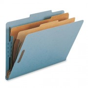 PARTITION FOLDER TC 2PT BLUE (WESTERN PAPER)