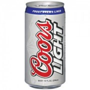 CERVEZA COORS LIGHT 4/6 PACK 10 OZ (LATA) CAN  71990300128