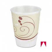 TROPHY CUP, DIXIE PERFECTTOUCH WRAPPED / OR WHITE CUP, 8 OZ. (AMERICAN.HOTEL.) VASOS