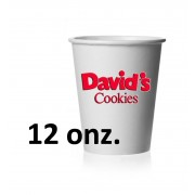 DAVID COOKIES VASOS 12 0Z. NEW  (E. NUNEZ)