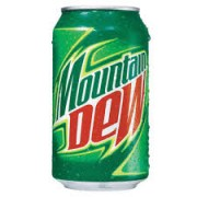 Mountain Dew Lata 10 oz. (pepsi)